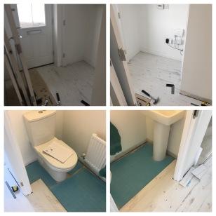 laminate flooring white fitting