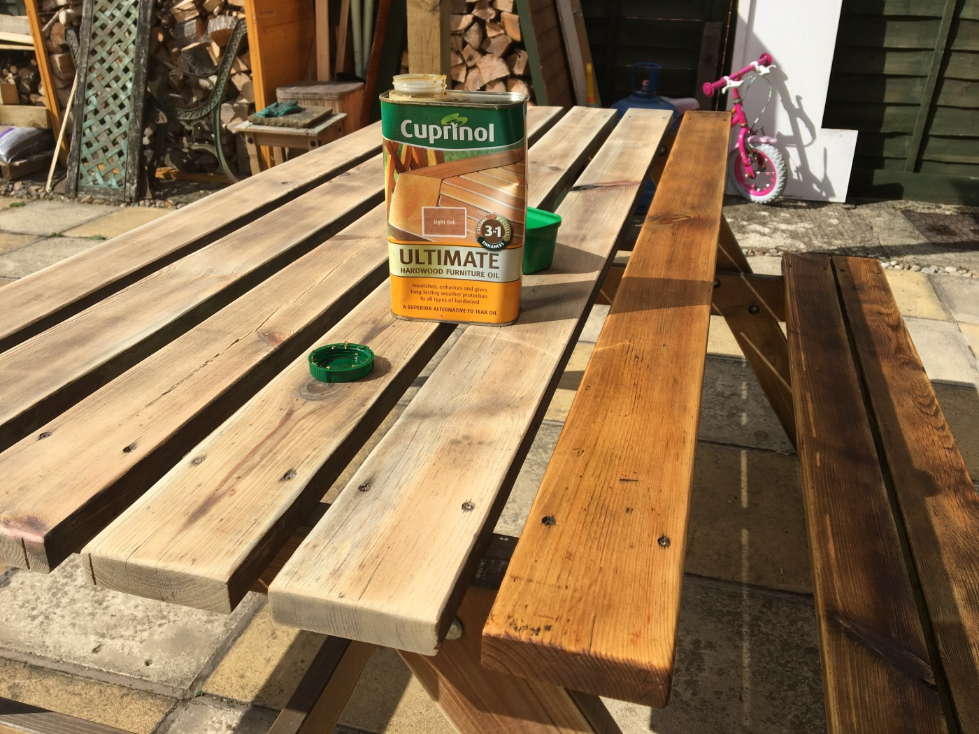 restoring your garden furniture - Garden Furniture Stain