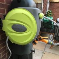 Verve auto rewind garden hose reel review