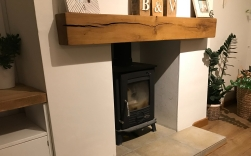 Skirting fireplace