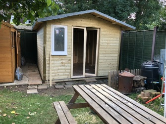 how to build your own shed - doors