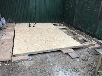 shed build 10