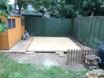 how to build your own shed - flooring base