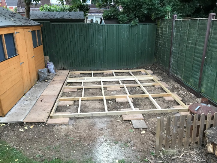 Shed build 7