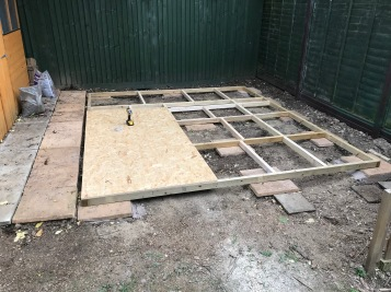 Shed build 9