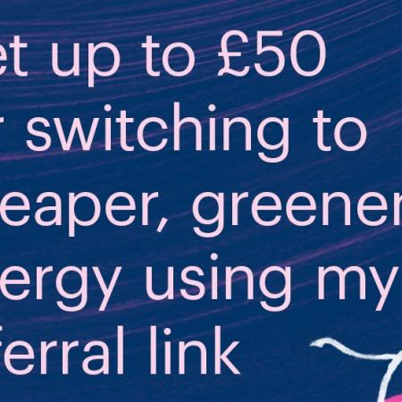 Bulb energy promo code 2020 £50 credit