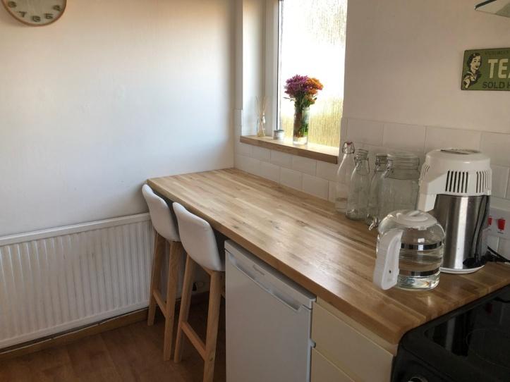 affordable updates to transform your kitchen - extend kitchen worktop