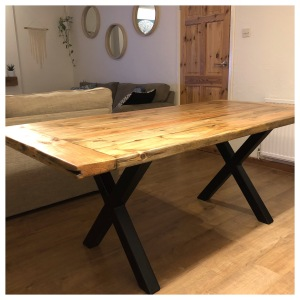Industrial Rustic Dining Table
