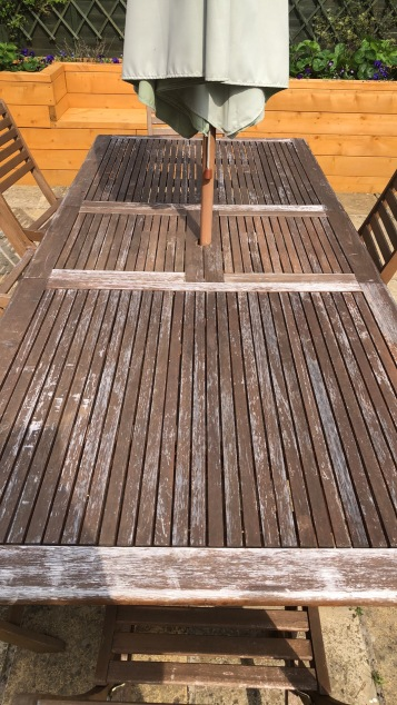 How to restore weathered wooden garden furniture a simple guide