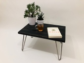 small industrial coffee table hairpin legs
