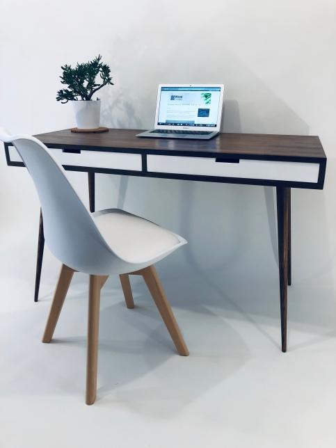 mid century style writing desk