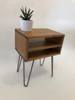 retro bedside table