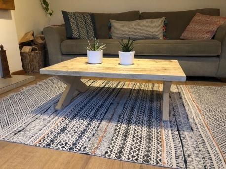 farmhouse style coffee table