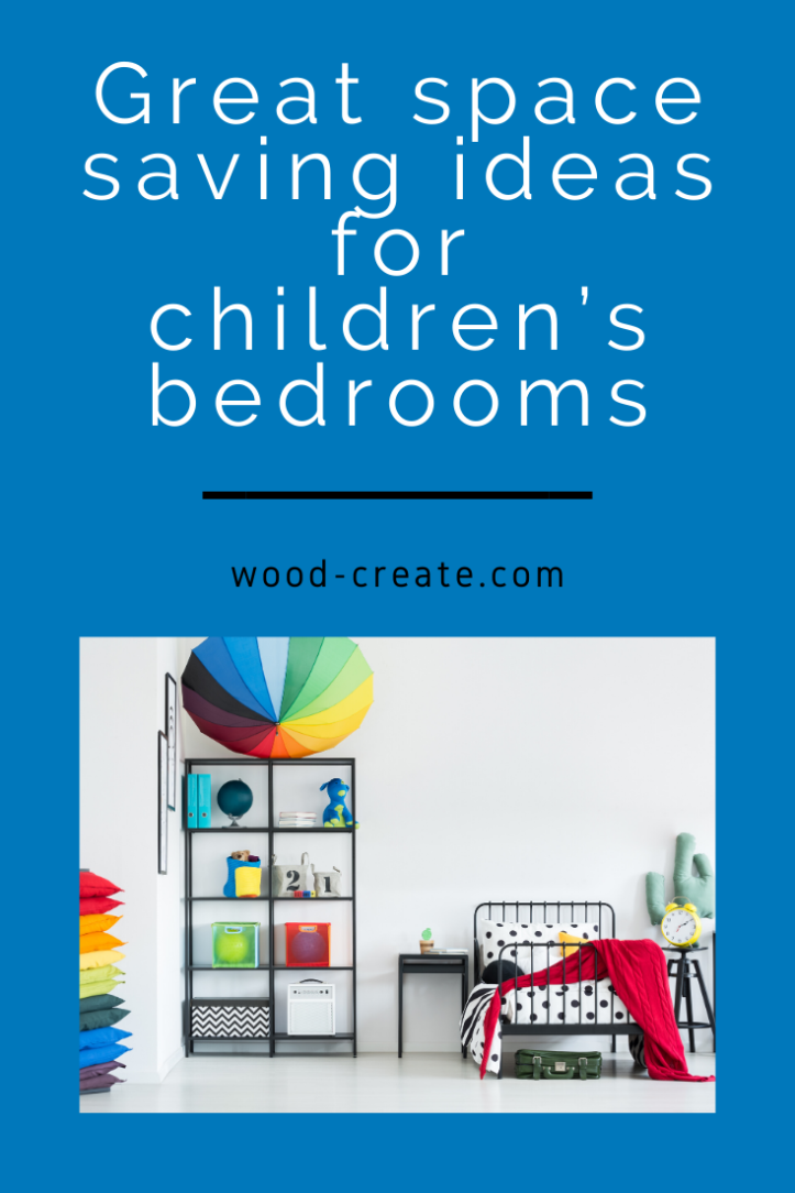 Space saving ideas for kids room