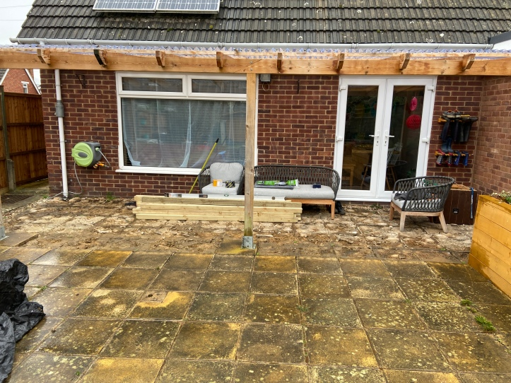 how to build your own decking - start
