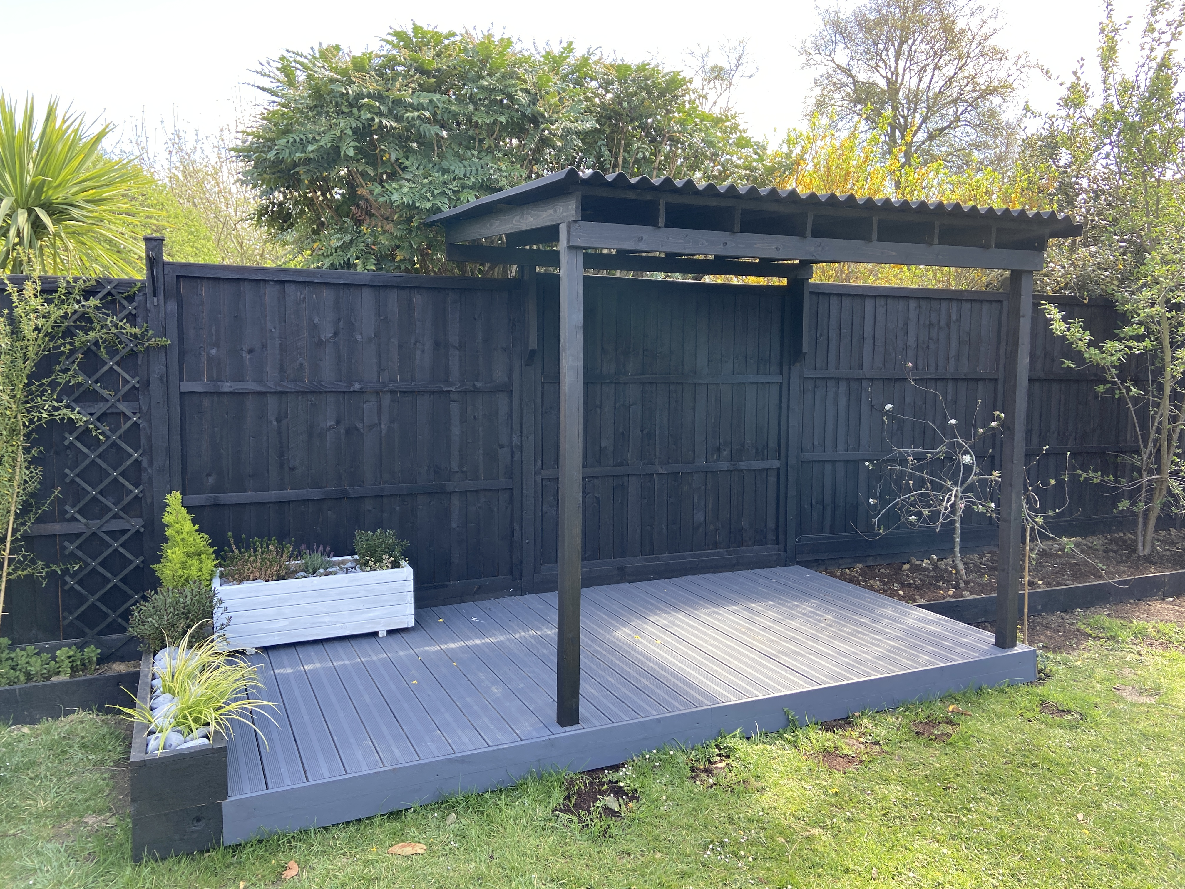 How To Build Your Own Decking Area Wood Create