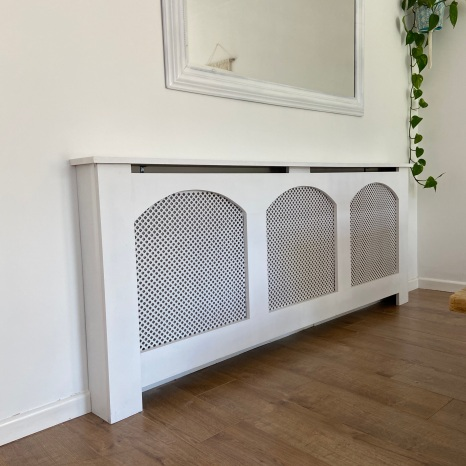 Make own radiator cover
