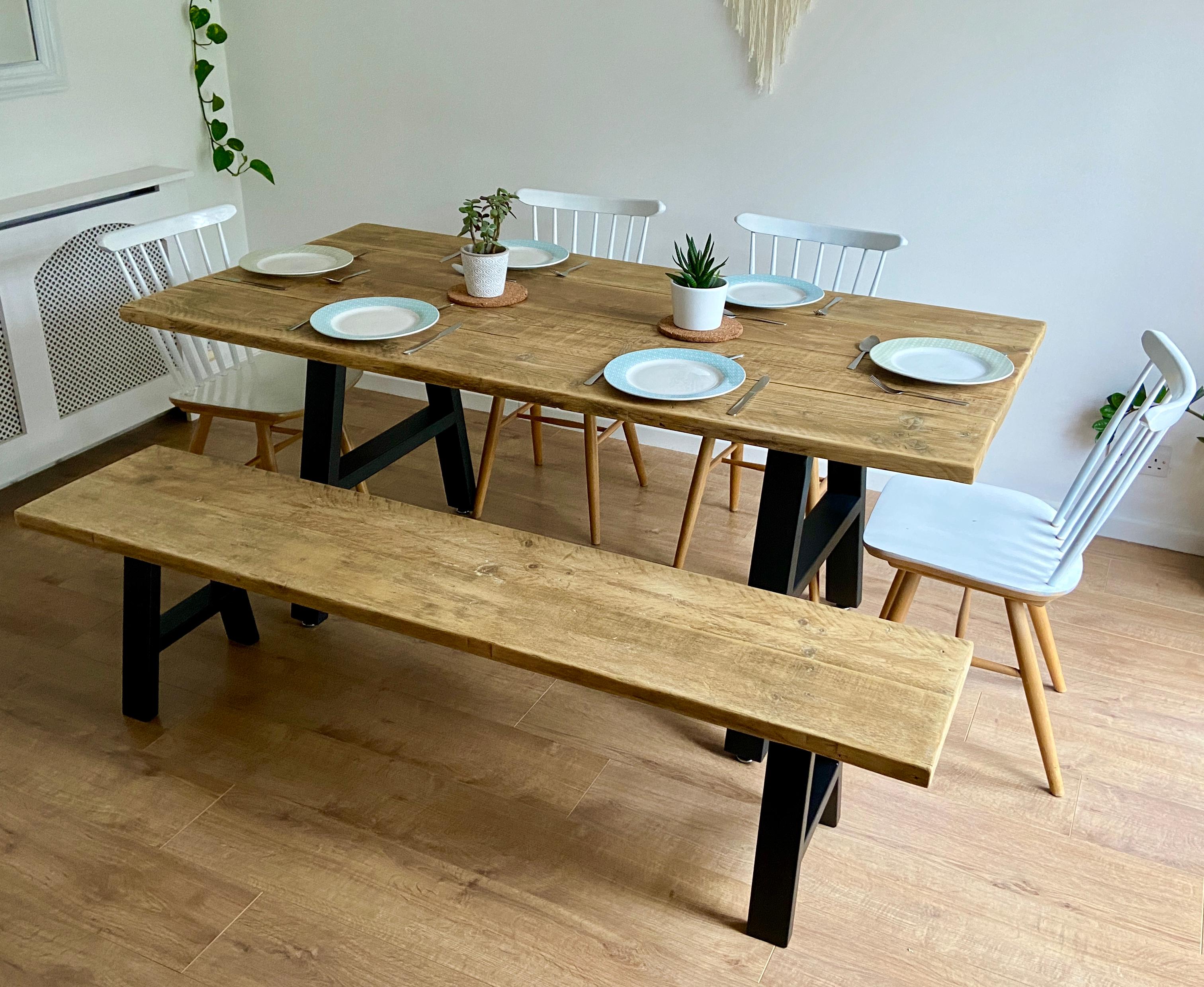 A frame dining sets