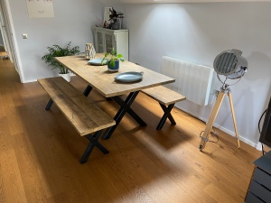 X-Frame Dining Set