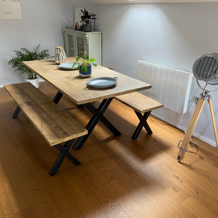 X-Frame Dining Set