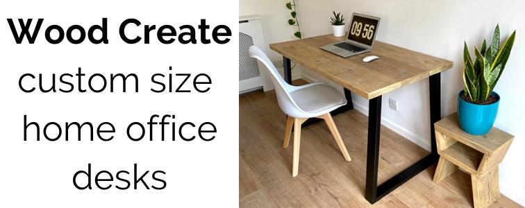 handmade desk reclaimed wood scaffold boards